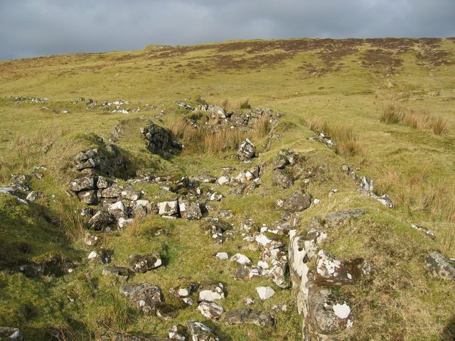 Ruin in Glen Haultin