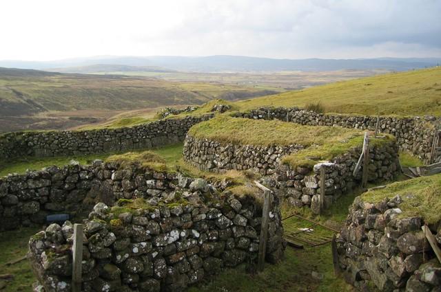 Sheepfold in Glen Haultin