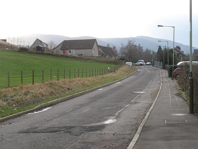 Bridge of Earn Road, Dunning