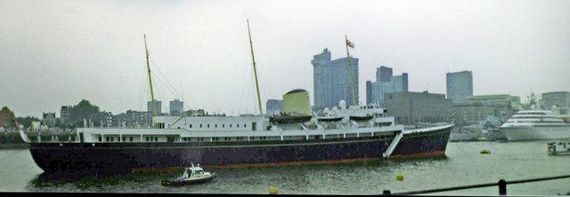 Royal Yacht Britannia, The Thames, London