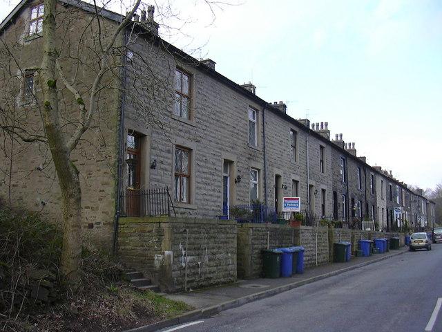 Navvy Row, Helmshore
