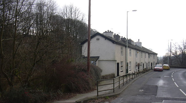 Cottages, Holcombe Road