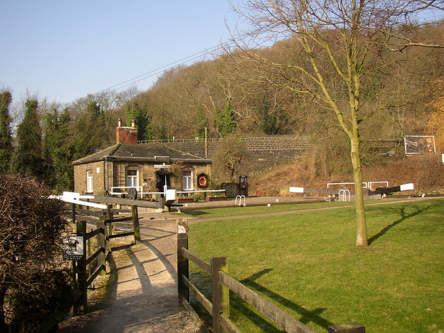 Lock-keeper's cottage, Salterhebble, Halifax