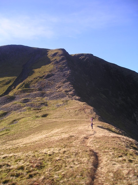 Bannerdale Crags the East Ridge