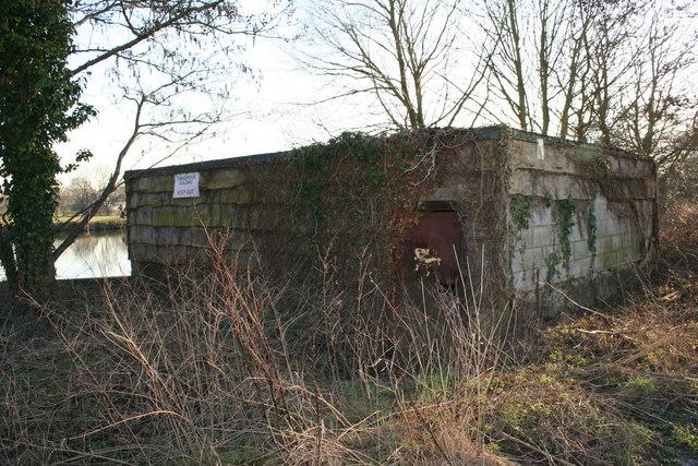 Disused  Boathouse