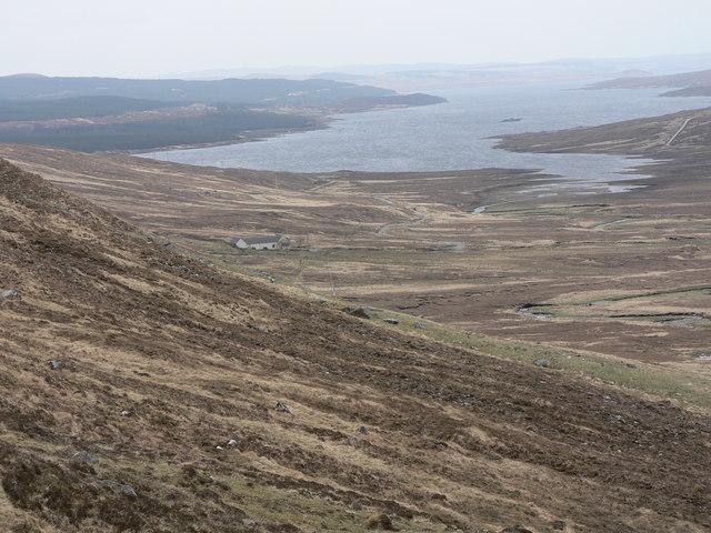 View over Loch Shin.