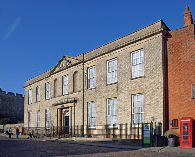 The Judges' Lodging House, Castle Hill, Lincoln