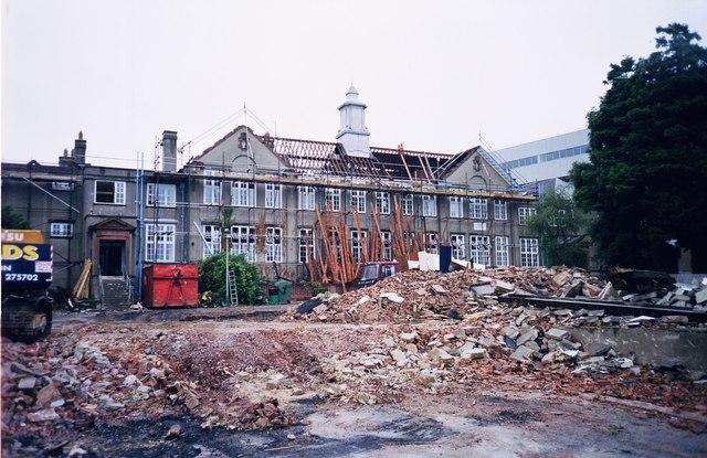 Pugh Building, former Torquay Boys' Grammar School