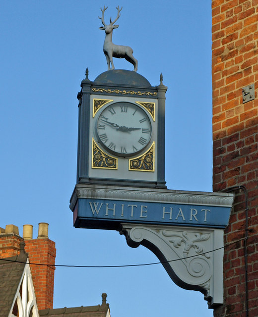 The Sign of The White Hart