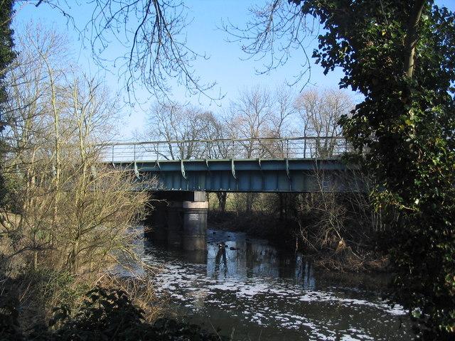 River Soar near Pilling's Lock