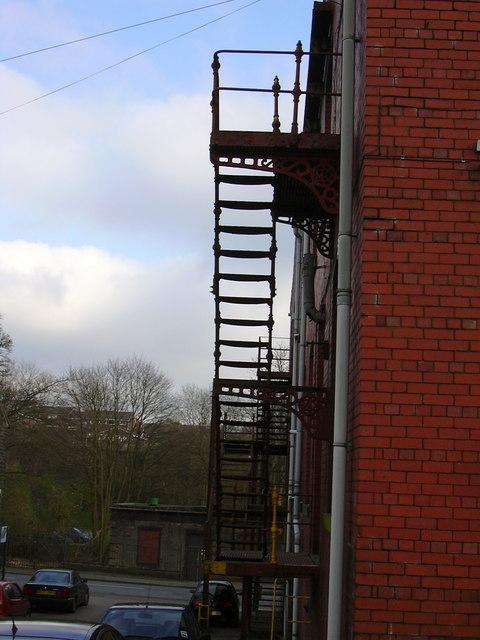 Park Mill Fire Escapes