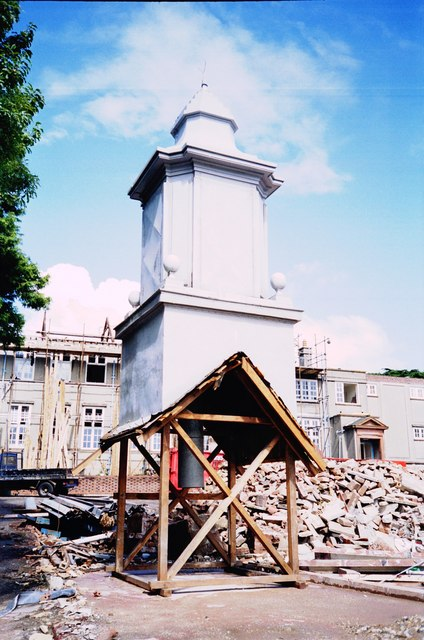 Bell tower, Torquay Boys' Grammar School