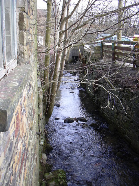 Stream at Albert Mill