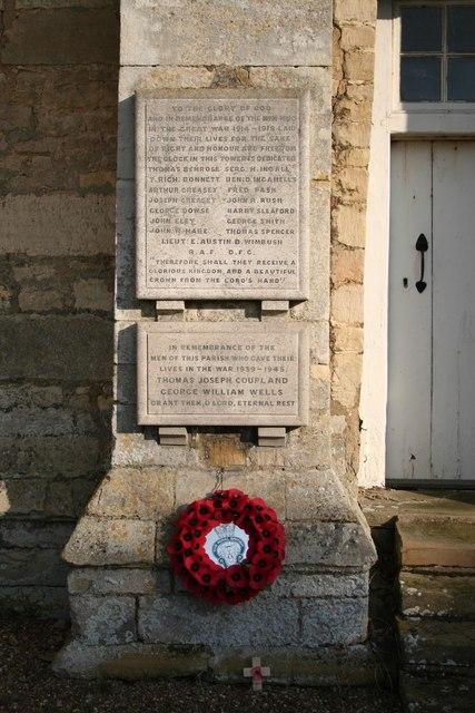Timberland War Memorial