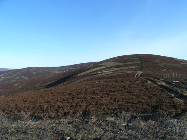 East towards Broomhill