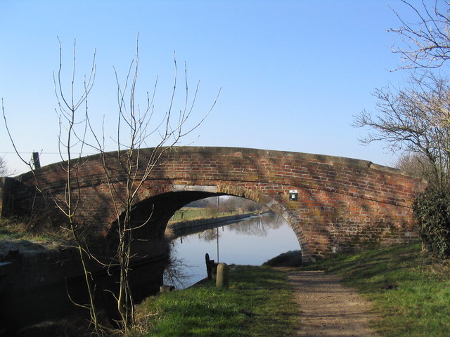 Woodthorpe Bridge, Grand Union Canal