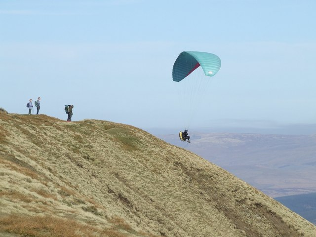 Lift-Off from Whernside's summit