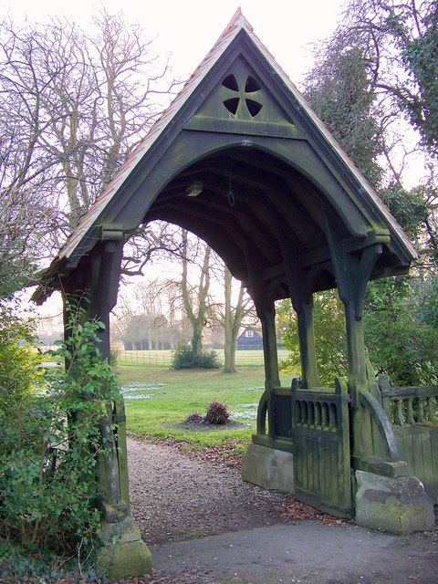 Lych gate, St Mary the Virgin, Preston Candover