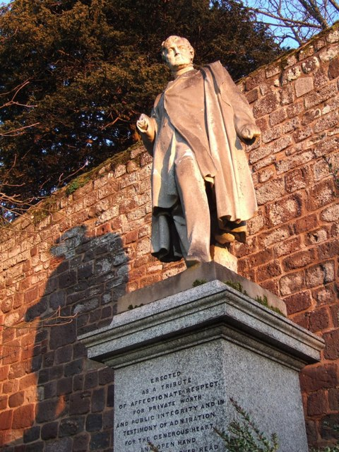 Statue of Sir Thomas Acland, Exeter