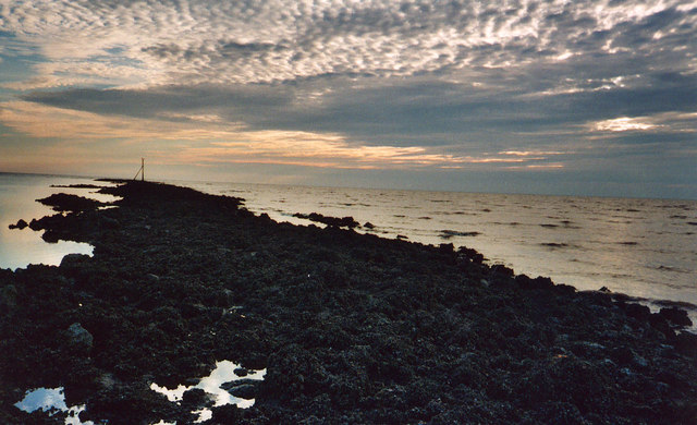 Outermost Perch,Low water, Lytham