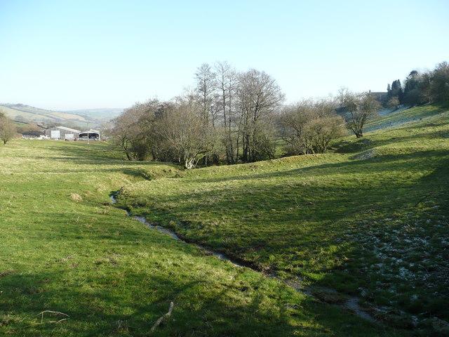 Brook near Bwlch Farm