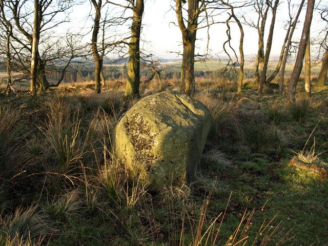 Rocking Stone, Cuff Hill