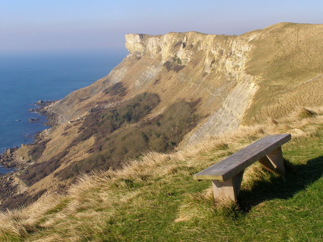 Bench above Brandy Bay