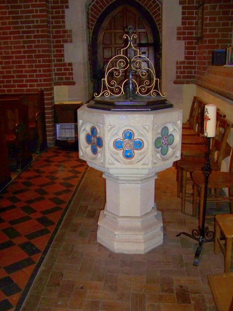 Font, St Mary the Virgin, Preston Candover