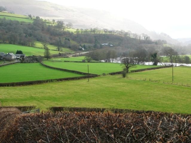 Wye valley beyond Glanwye View