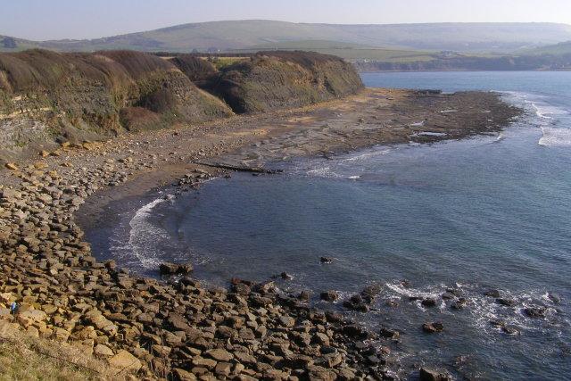 Western end of Kimmeridge Bay