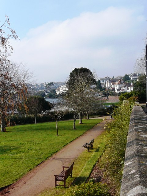 South end, Oldway mansion garden, Paignton