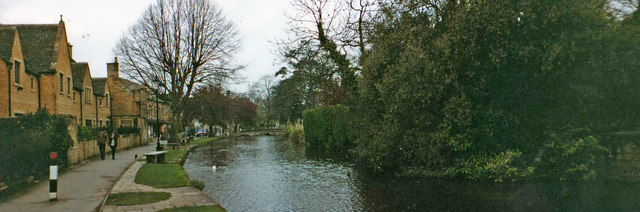 River Windrush at Bourton on the Water, Gloucestershire