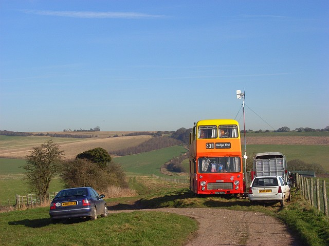 Byway at Stancombe Farm