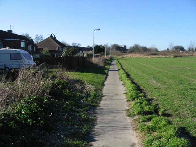 Church Lane path