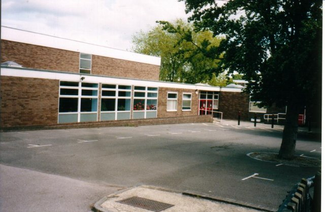 Mill Vale Middle School, main entrance