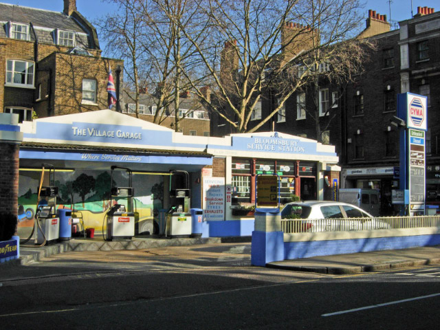 Bloomsbury Service Station