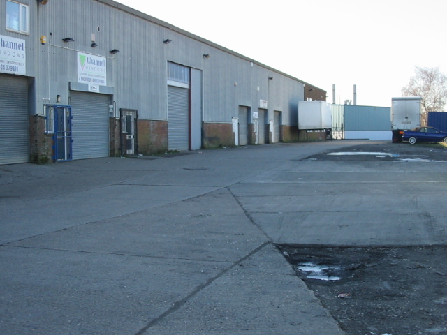 Small industrial estate off Southwall Road