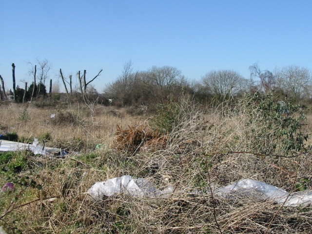 Wasteland to the NW of Minters industrial estate