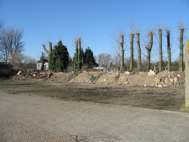 Wasteland near Minters industrial estate, Southwall Road