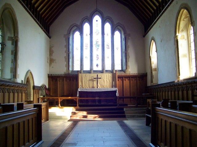 Chancel, St Mary and St Bartholomew, Cranborne