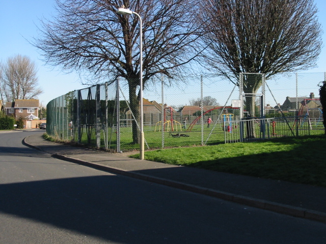 Playing fields on Church Lane