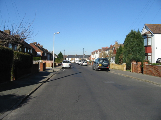 View along Orchard Avenue, Deal