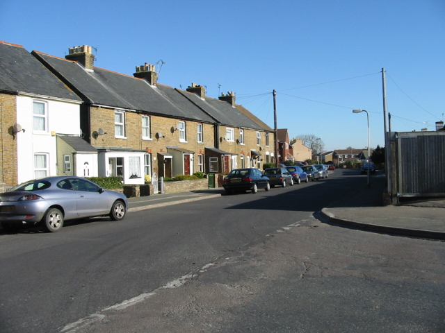 Church Lane from junction with Orchard Avenue