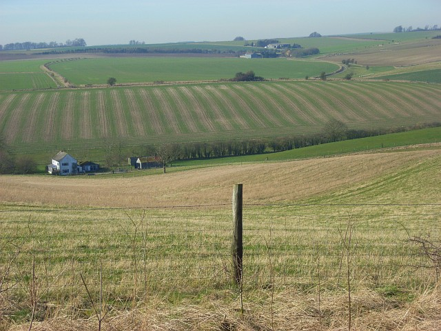Farmland on the Lambourn Downs