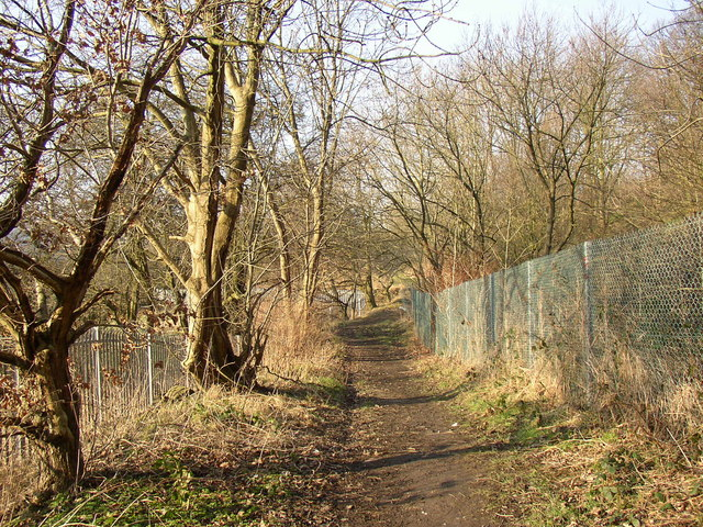 Footpath off Thornhills Beck Lane, Clifton