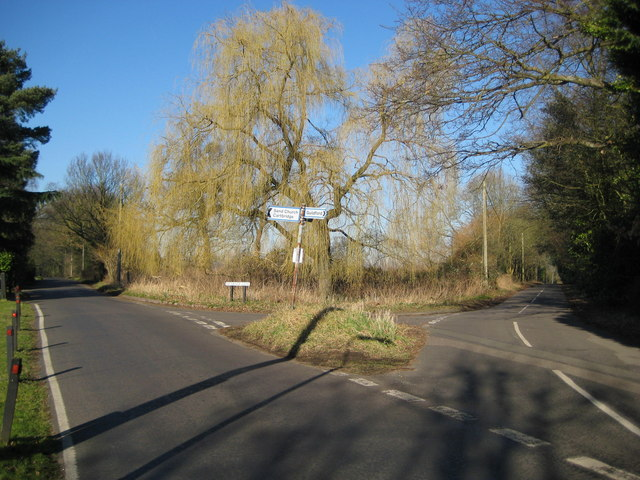 Sendgrove: Vicarage Lane and Woodhill junction