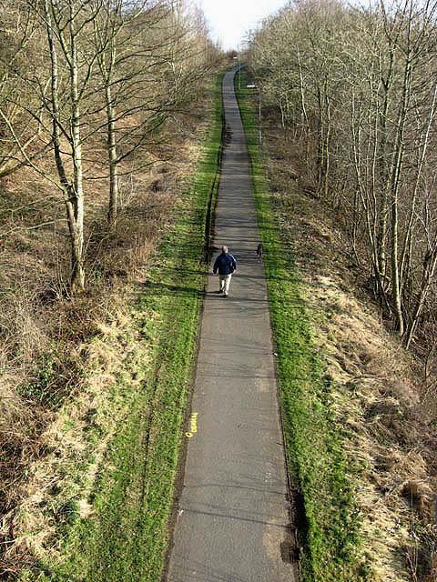 The Black Path at Langlee