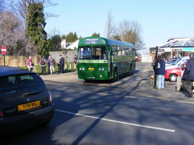 Hawkhurst Bus Station, departure