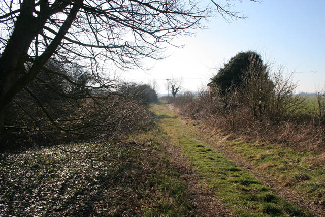 Farm track off Station Lane