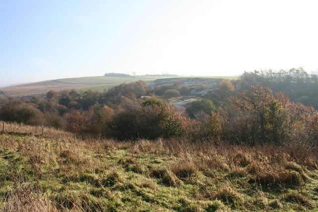 Heasandford near Walshaw Clough
